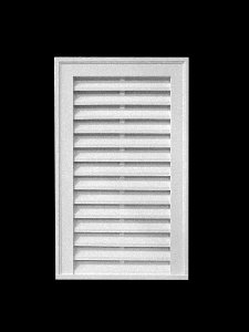Gable vent louver rectangle